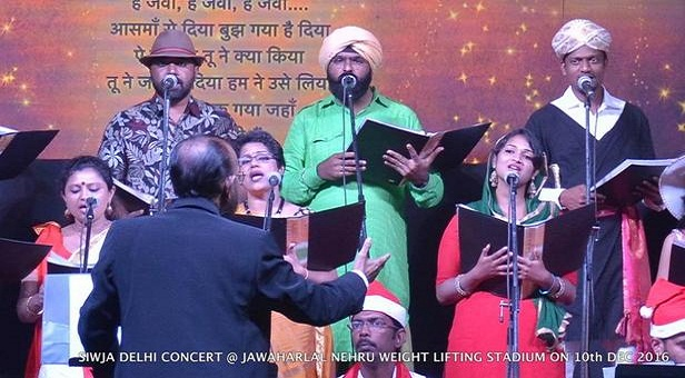 carol singing in delhi